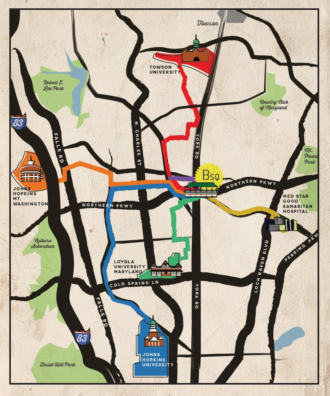 Bike-Map-All-Routes