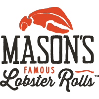 Logo of Mason's Famous Lobster Rolls located in Belvedere Square