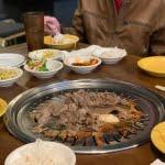 Korean barbecue dishes at Koba Korean BBQ in Belvedere Square Market