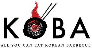 Logo for Koba Korean BBQ, a new tenant at Belvedere Square market in the summer of 2020.