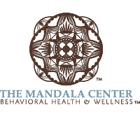 Logo for The Mandala Center, a holistic health and wellness center located at Belvedere Square.