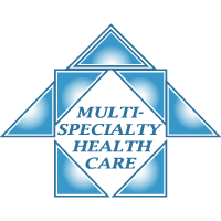 Logo for Multi-Specialty Healthcare, a healthcare tenant at Belvedere Square in Baltimore Maryland.