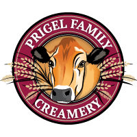 Logo for Prigel Family Creamery, a creamery and family-owned business located in Belvedere Square and northern Maryland.