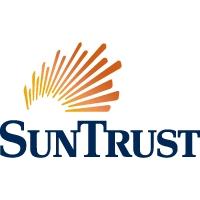 Logo for Suntrust Bank located in Belvedere Square Market.