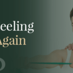 """Graphic for Phoenix Physical Therapy with a woman and man in physical therapy session and text """"Imagine feeling like you again."""""""